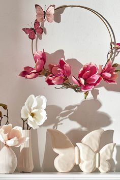 All Details You Need to Know About Home Decoration - Modern Magnolia, Diy Projects For Beginners, Diy Chicken Coop, Real Plants, Diy Organization, Flower Arrangements, Floral Wreath, Wreaths, Shabby