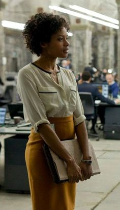 Loved Eve's look in Skyfall. I want this exact outfit for DC