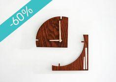 Reloj más menos, en madera de nogal, de $1,260 a $504 ¡aprovecha y #compradiseño ! http://ow.ly/UwH3d