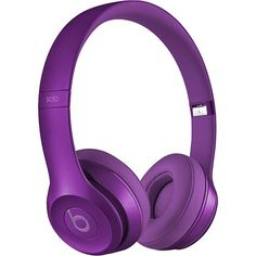 Beats by Dr. Dre - Solo 2 On-Ear Headphones - Imperial Violet - 1768f9170d