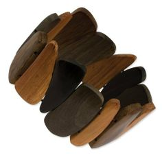 Natural Hamba Wood Stretch Bracelet - JewelryWeb JewelryWeb. $14.30. Save 50% Off!