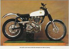The Sammy Miller's Classic Ariel GOV 132 Trails Bike