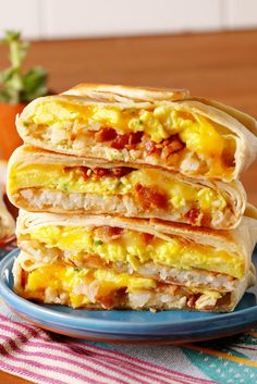 Making A Breakfast Crunchwrap At Home Is Way Easier Than You'd Think  - Delish.com