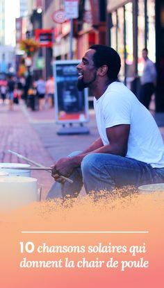 Une sélection de chansons positives qui font vibrer et donnent le sourire ! #musique #positive #énergie #playlist #feelgood. Découvrir : http://neominder.com/chansons-chair-de-poule/