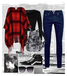"""""""Ready for school #14 <3"""" by someonefromsomewhere ❤ liked on Polyvore featuring MICHAEL Michael Kors, Topman, Vans and Victoria's Secret"""
