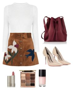 """""""Untitled #518"""" by mikeysfaveslice on Polyvore featuring RED Valentino, Sophia Webster, Sophie Hulme, Ilia and Stila"""