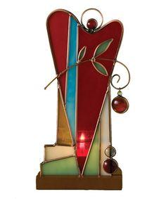 Look at this #zulilyfind! Glass Heart Votive Candleholder by Take Heart #zulilyfinds