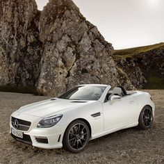 Merc SLK 2012. 5.5L V8, 415 horsepower, 0-60 in 4.5.