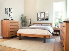 our high end modern american platform bed features clean smooth lines with an art deco style built bedroom furniture moduluxe