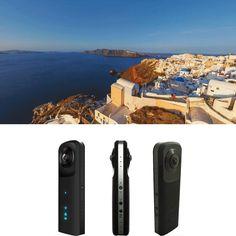 Sale 10% (128.99$) - HDKing G601 INFOTM C23 Double OV 4689 720° Panoramic VR Camera Multi-mode Double Fisheye Lens Double Lens Full View Outdoor Sports DV