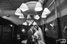 Sweet, private moments during a busy wedding day