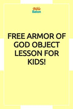 Capture kids' attention with this crazy object lesson involving trash bags & water guns—and, at the same time, teach kids to put on the whole Armor of God. These types of hands-on games & activities grab kids' interest from the get-go, which makes the rest of your lesson easier! Perfect for VBS, Sunday School, or homeschool. Click through for Armor of God Intro Activity instructions—plus a free printable lesson plan! Family Bible Study, Bible Study Guide, Hands On Activities, Learning Activities, Teaching Kids, Teaching Resources, Armor Of God Lesson, Water Guns, Scripture Memorization