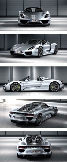 The new Porsche 918 spyder.