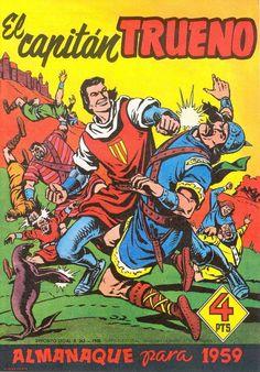 El Capitán Trueno, Almanaque 1959