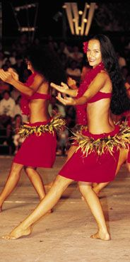 Love Tahitian Dancing