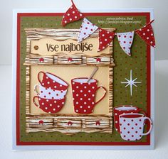 Memory Box dies - cups & mugs USE FOR OTHER OCCASIONS