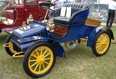 1908 Cole Runabout. Cole Motor Car Company. Indianapolis 1908-1925