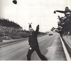 The Lotus name may well be back in F1, but one thing you will never see again is Colin Chapman throwing his hat in the air after a Lotus wins the race.