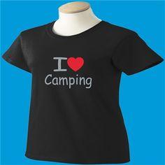 I Love Camping T-Shirt - www.scottystees.com