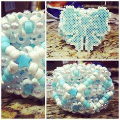 pastel bow cuff by @miss_da1sy