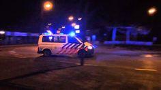 Politie Met spoed onderweg woningbrand Bergen op Zoom