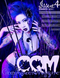 CreepyQueenMag | Issue 4 Summer 2011 - Up Arrow, Plus And Minus, Clothing Company, Midnight Blue, Blues, Scene, Purple, Artist, Summer