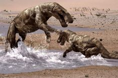 When a female Gorgonopsid attacks a Scutosaurus. Kenneth Branagh. Gorgonops, a type of mammal-like reptile that flourished during the Permian, but died out before the Mesozoic