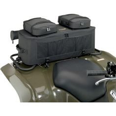 "MOOSE UTILITY DIVISION EXPEDITION RACK BAG.  A premium cargo system with riveted straps and carrying handles adds true functionality to your ATV. Rigid bag mounts easily to your ATV's front or rear rack. Mounting straps and detailed instruction set are included.  ""VISIT SITE"" ABOVE FOR ALL INFO."