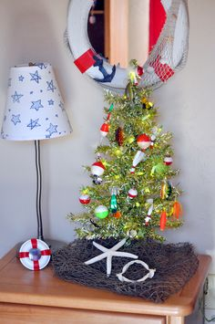 Christmas Decorations Camo - Awesome Christmas Decorations Camo , Green Tinsel Tree with Lots Of Fishing Bobbers and Lures Nautical Christmas, Tropical Christmas, Beach Christmas, Christmas Tree Themes, Christmas Home, Christmas Wreaths, Christmas Ornaments, Holiday Decor, Fishing Room Decor