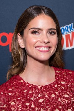 Shelley Hennig Photos Photos - Actress Shelley Hennig attends the MTV Teen Wolf Final Farewell press room during 2016 New York Comic Con at the Jacob Javitz Center on October 8, 2016 in New York City. - 'Teen Wolf' Final Farewell at New York Comic Con