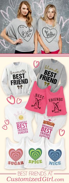No Need For A Valentine When You Have Matching Best Friend Shirts