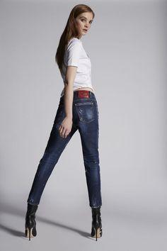 fe8eca81f2 Dsquared2 Jeans Damen, Designer skinny, boyfriend, bootcut Jeans Frühling  Sommer | Dsquared2 Online Store