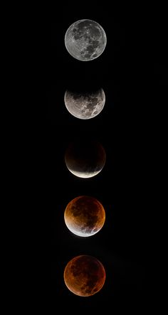 The blood Moon In Progression Iphone Wallpaper Fall, Aesthetic Iphone Wallpaper, Aesthetic Wallpapers, Planets Wallpaper, Galaxy Wallpaper, Wallpaper Backgrounds, Witchy Wallpaper, Cute Black Wallpaper, Moon Pictures