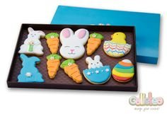 Pack grande especial Pascua en color azul: http://www.galletea.com/galletas-decoradas/