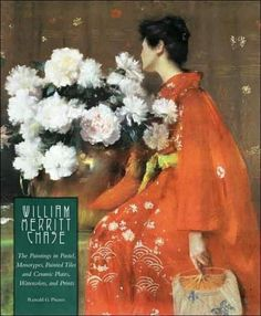 WILLIAM MERRITT CHASE The Paintings in Pastel Monotypes Painted Tiles & Ceramic