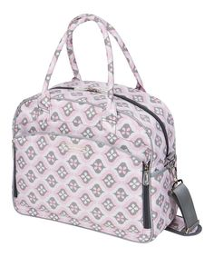 Look at this The Bumble Collection Sweet Blush Arabesque Dana Daytripper Diaper Bag on #zulily today!