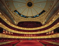 The Royal Opera House started out in 1732 as the Covent Garden Theater, but a disastrous fire gutted it in 1808. Photo by: David Leventi