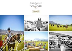 During the Market at Val de Vie guests get to watch a polo game while sipping on white wine and shopping for fresh bread Fresh Bread, White Wine, Polo, Marketing, Game, Watch, Movie Posters, Movies, Shopping