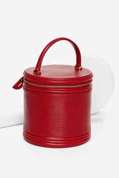 // Vintage Louis Vuitton Cannes Leather Vanity Case - Louis Vuitton   Accessories