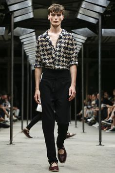 play with fit + proportions, Dries Van Noten Menswear Spring Summer 2015 collection // menswear style + fashion