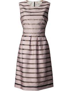sheath ribbon dress / lela rose