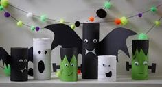 20 Cute Toilet Paper Roll Crafts – DIYs This fun round up of 20 Cute Toilet Paper Roll Crafts will be a great a great addition to a fun summer schedule this year. Toilet Paper Roll Elephant Adorable and fun Toilet Paper Roll Elephant Cr… Halloween Crafts For Kids, Diy Halloween Decorations, Easy Halloween, Fall Crafts, Kids Crafts, Toilet Paper Roll Crafts, Diy Paper, Halloween Girlande, Diy Kids Kitchen