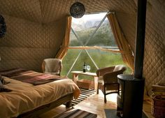 EcoCamp Patagonia in Chile