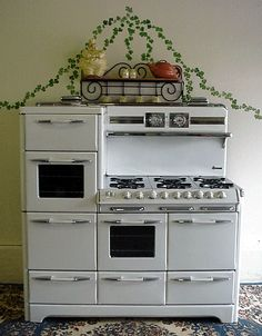 "My dream stove/oven.  A 60"" O'Keefe & Merritt Aristocrat.  I think I'd want it in black though."