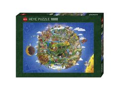 The Earth  Puzzle - COVER