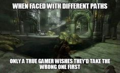 Video game paths