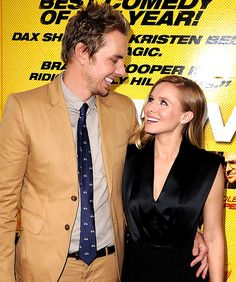 """Kristen Bell, Dax Shepard Consider Having Kids """"Out of Wedlock"""" Celebrity Couples, Celebrity News, Kristen Bell And Dax, Dax Shepard, Perfect Together, Famous Couples, Celebs, Celebrities, Role Models"""