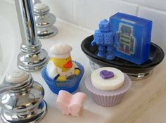 SoapPrizes handmade soaps for kids with toys inside! #womenbiz #handmade #launchher #freshlylaunched