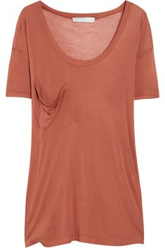 Kain Oversized modal and silk-blend T-shirt