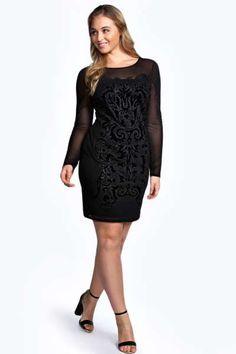 Leah Beaded Bodycon Dress at boohoo.com